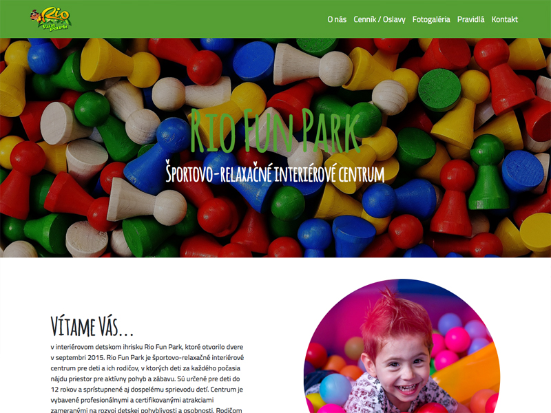 web RIO Fun Park